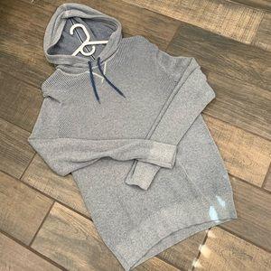 Men's Gap knit hoodie